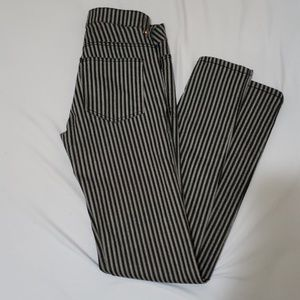 zebra h&m pants